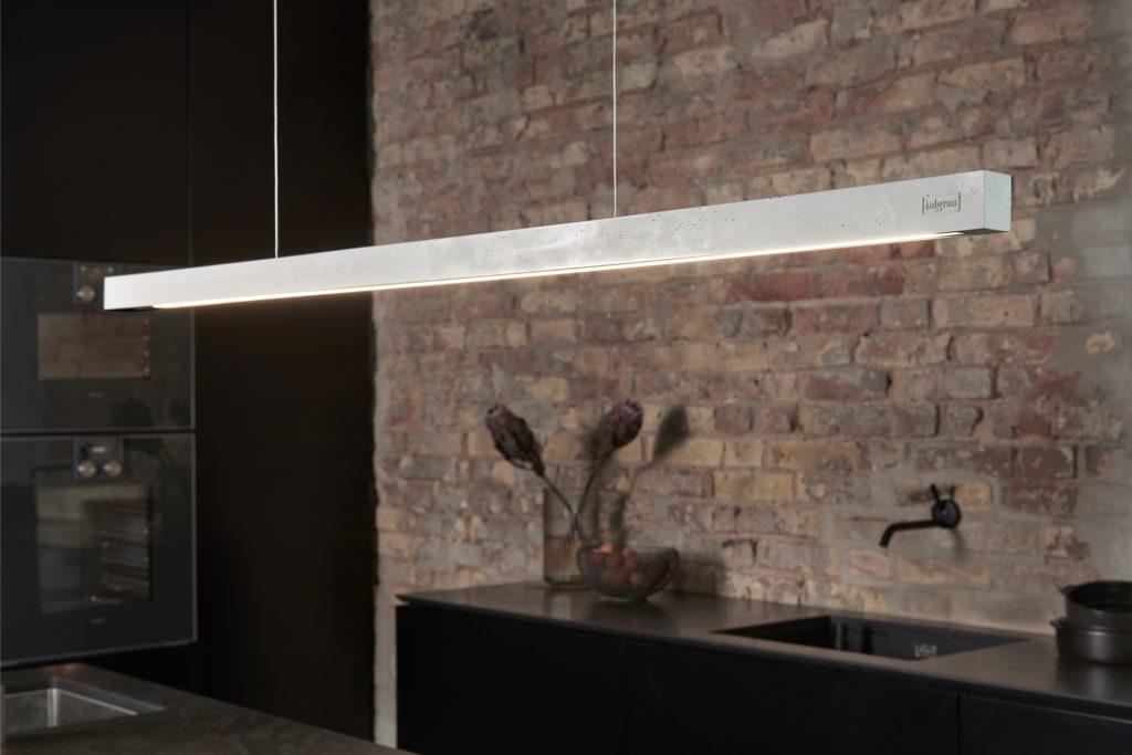 Die filigrane Betonlampe hat einen Design-Preis gewonnen.