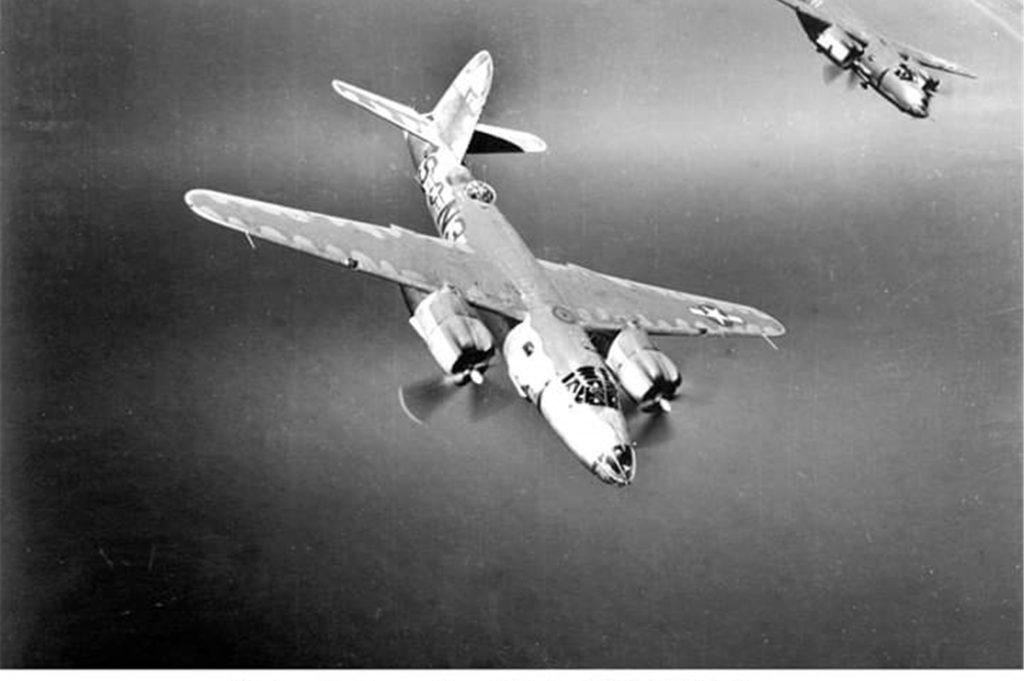 Bomber dieses Typs waren am 22. März 1945 auch über Legden unterwegs.