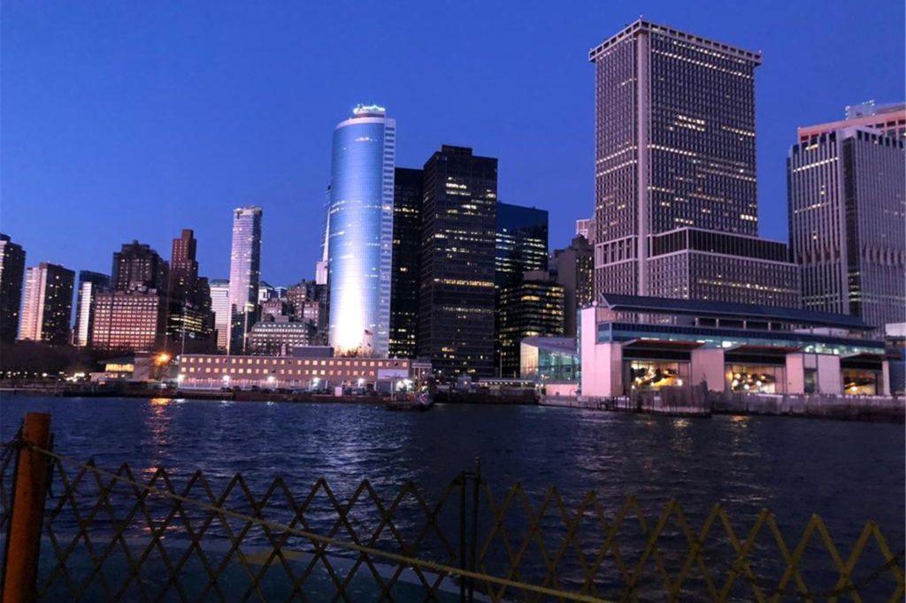 New York beeindruckte die Nienborgerin sehr. Viele Wochenende verbrachte sie in der Millionen-Stadt.
