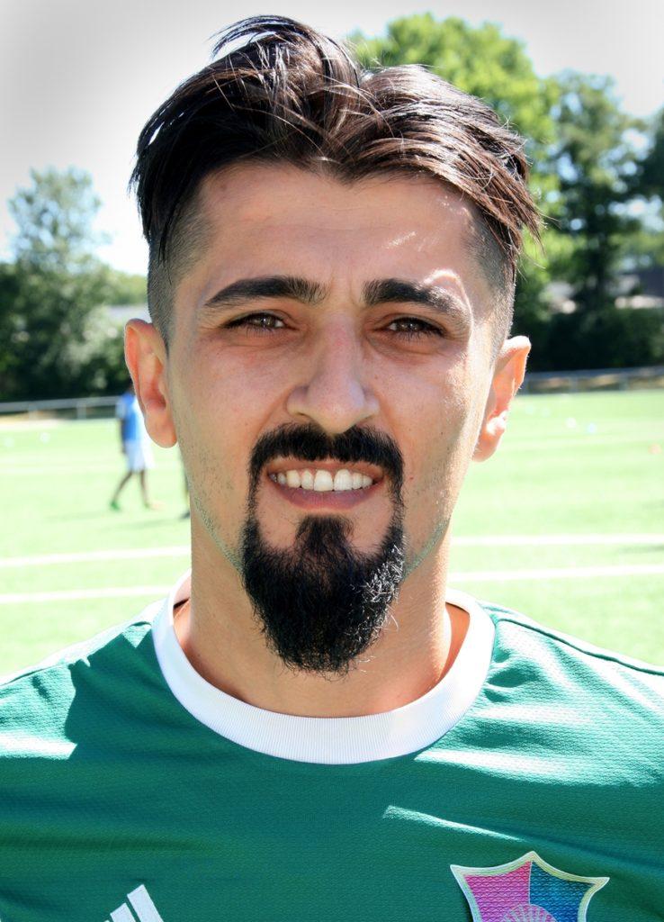 """Magdet """"Nagi"""" Magid hat mit Ercan Arslan die Sportliche Leitung beim FC Roj übernommen."""
