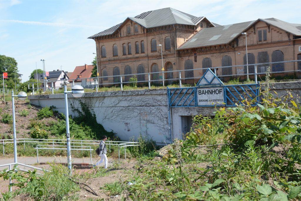 Der Beginn der Bahnhofs-Sanierung und der Baustart der Umgestaltung des Bahnhofsumfeldes wird sich wegen der Corona-Krise um ein paar weitere Wochen verzögern.