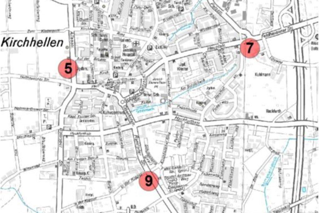 Standorte neue Feuerwache Kirchhellen