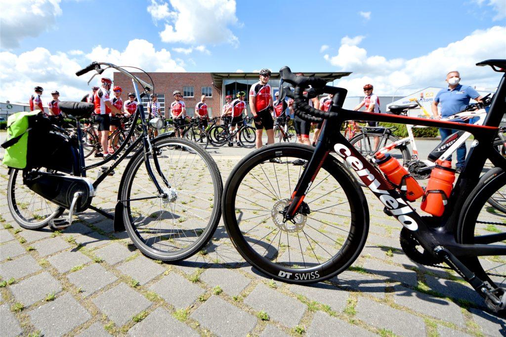 Ob Hollandrad oder Rennmaschine: Bei der RSV-Spendenchallenge können bis Sonntag, 12 Uhr, alle Radfahrer teilnehmen. Spenden sind für die Kinderkrebshilfe Münster vorgesehen.