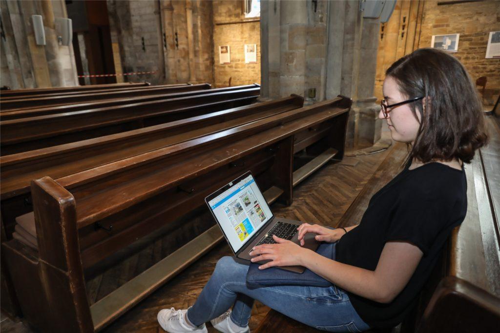 Hier findet sich zwar nicht der kühlste, dafür aber der ruhigste Ort von allen: Die Reinoldikirche bietet zwar nicht wirklich ein perfektes Ersatzbüro, dafür aber einen Ort zum Verweilen.