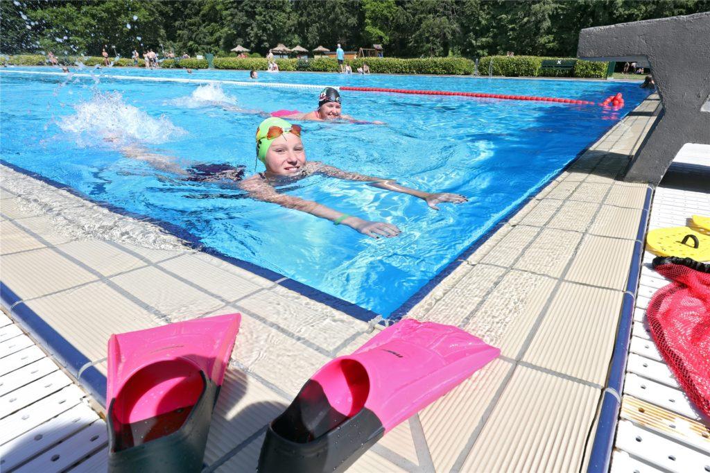 Das Freibad Dellwig ist für begeisterte Schwimmer gerüstet.