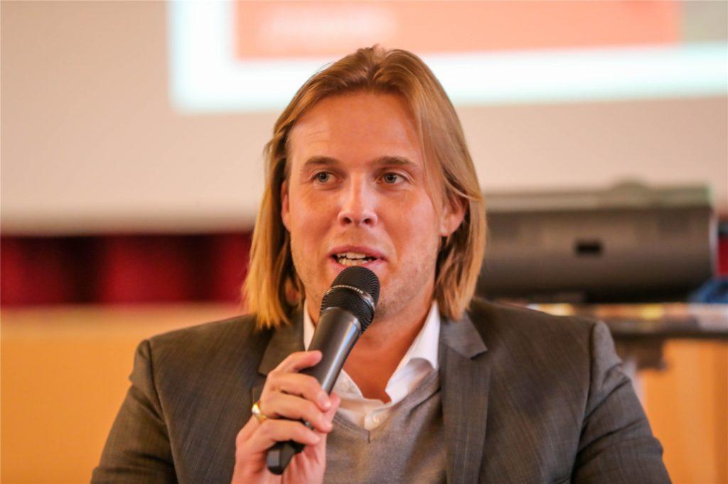 Rick Mädel ist Geschäftsführer von Hagedorn Revital. Das Gütersloher Unternehmen entwickelt das Knepper-Areal.