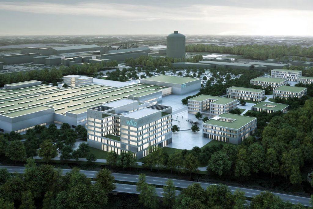 So soll der neue Wilo-Campus aussehen.