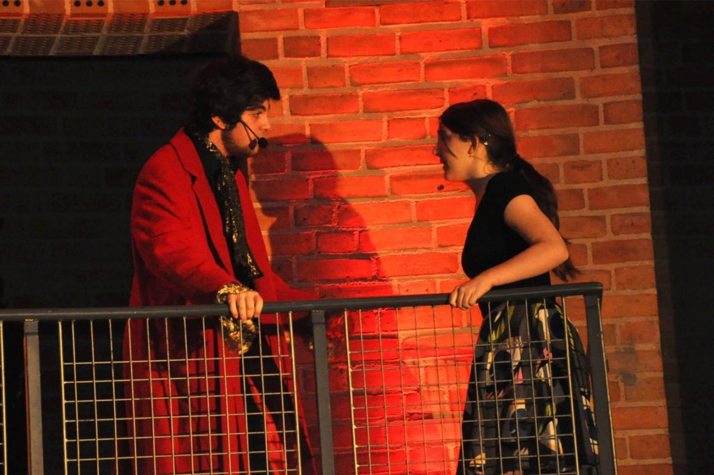 Das war das erste Musical: Antonia und der Reißteufel.