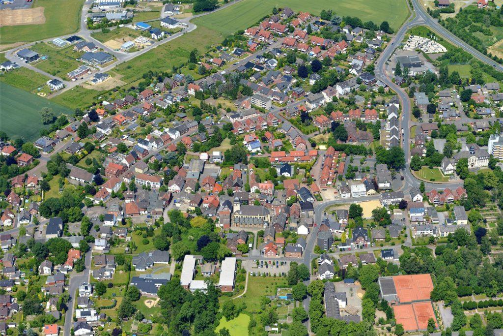 Die Polizeistudenten wohnen über den Ortsteil Bork verteilt auch in privaten Wohnungen.