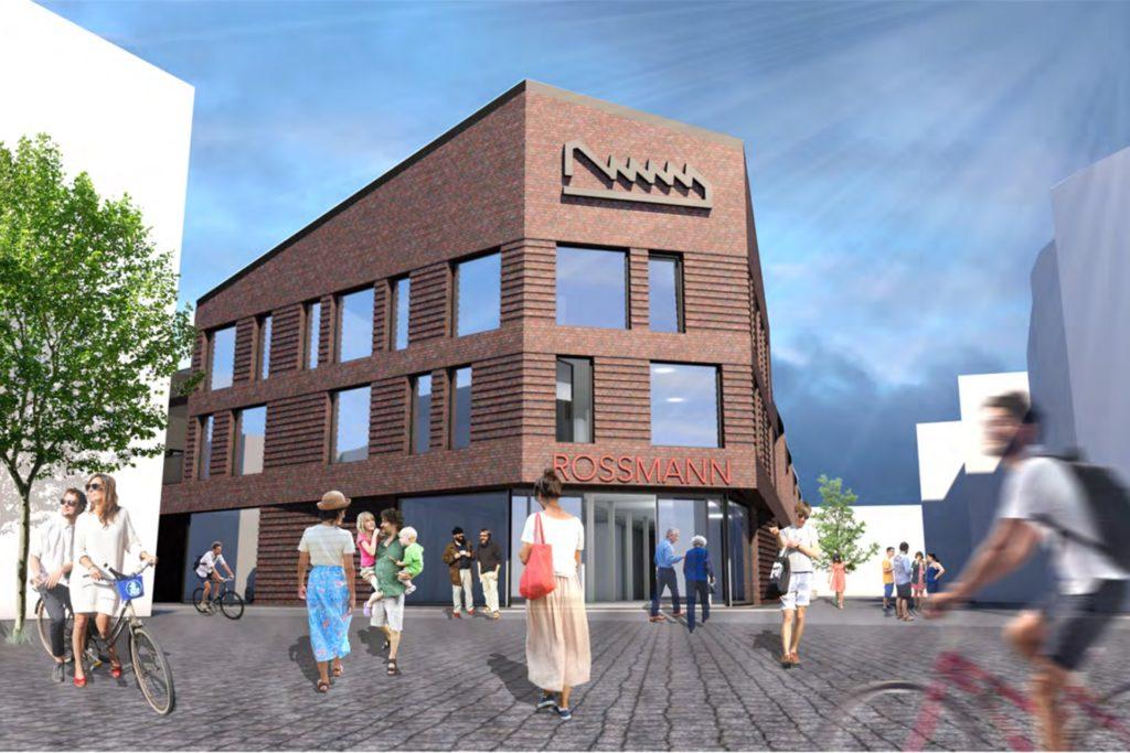 """So sieht die aktuelle Planung des Projekts """"Bremer Tor"""" aus. Auch der neue Investor soll diesen Plänen folgen."""