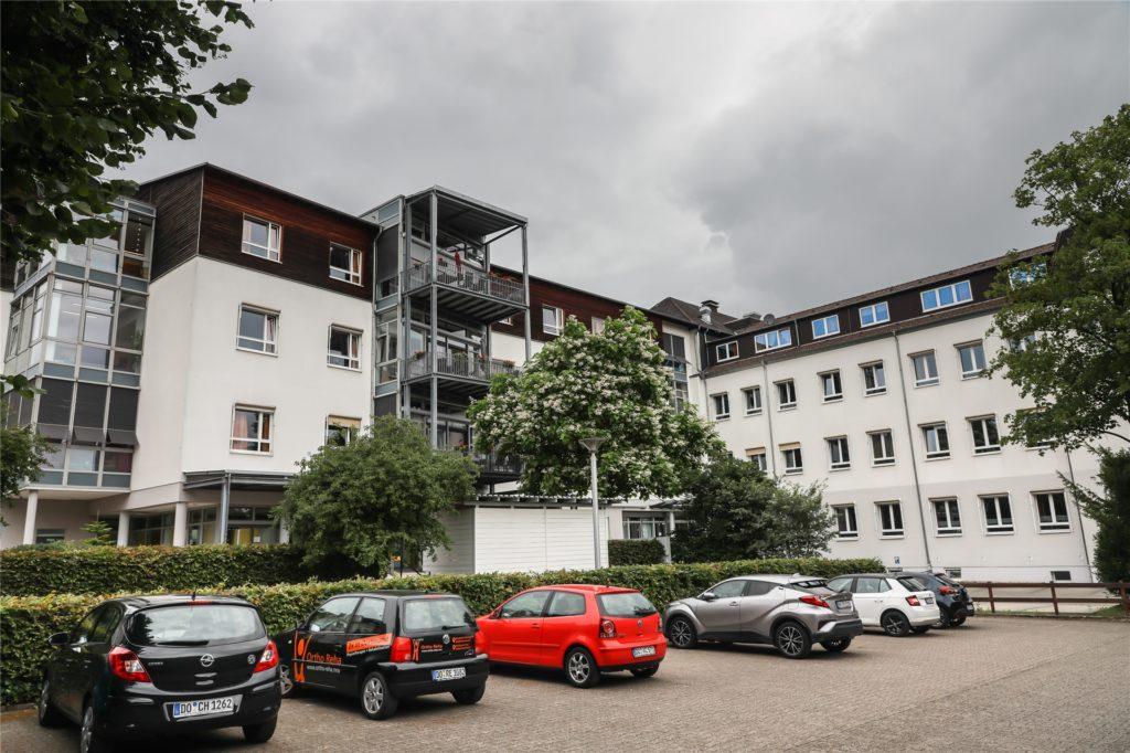 Das Wohn- und Pflegezentrum St. Josef an der Altenderner Straße 73 war seit Donnerstagmorgen ohne Wasser. Der Betrieb war dadurch nur wenig beeinträchtigt.