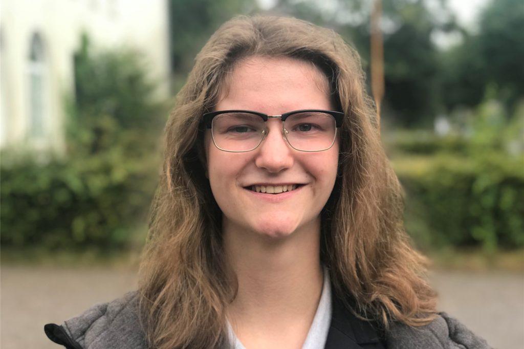 Lisa Ellermann (18) steht auf Platz zwei der Linke-Reserveliste.