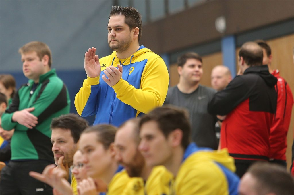 Patrick Fernow, Coach des Meisters KV Adler Rauxel.