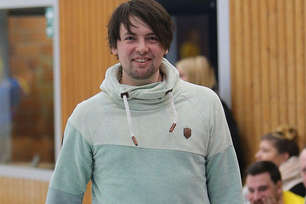 Fabian Kloes ist seit Beginn der Saison 2019/20 Trainer des Schweriner KC.