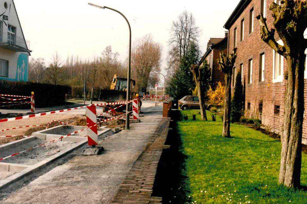Holger Martens hat die Sanierung der Wenemarstraße im Jahr 1995 mit dem Fotoapparat dokumentiert.