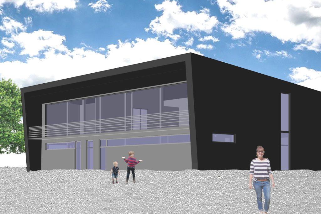 So soll das neue Feuerwehrhaus des Löschzugs Rauxel-Dorf aussehen.