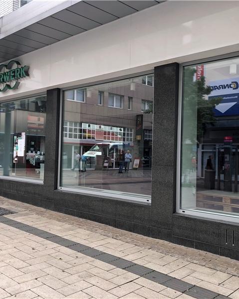 Die alte Vorwerk-Filiale am Westenhellweg steht aktuell leer. Der Haushaltsgeräte-Händler ist in die Thier-Galerie umgezogen.