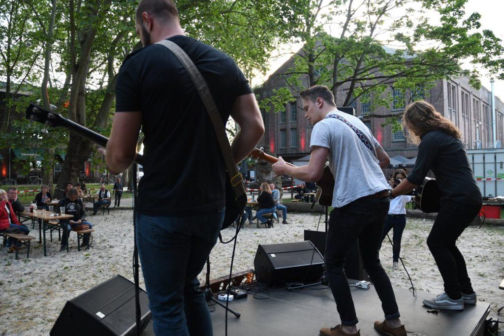 Bei der ersten Open-Air-Ausgabe an Pfingsten ging es musikalisch gut zur Sache.
