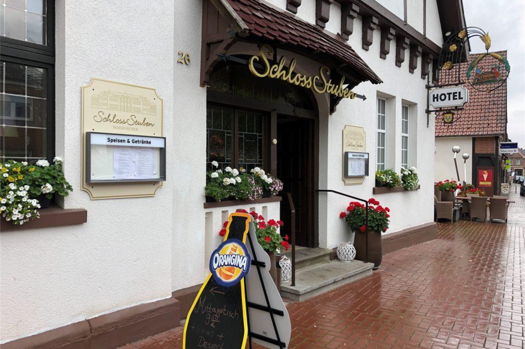 Zehn Zimmer hat das Hotel Schloss-Stuben.