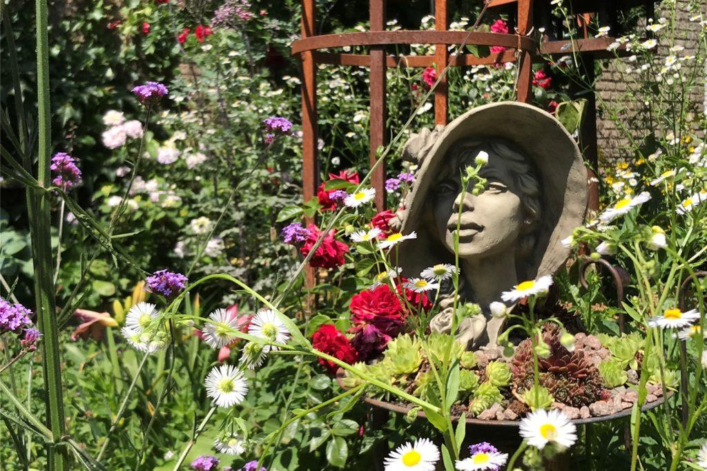 Liebe zum Detail: Im Garten des Ehepaares Egbringhoff gibt es viel zu entdecken.