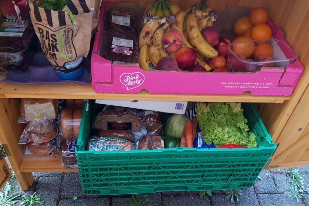Lebensmittel, die die Supermärkte nicht mehr verkaufen dürfen, landen in einem der Fail-Teiler im Raum Werne.