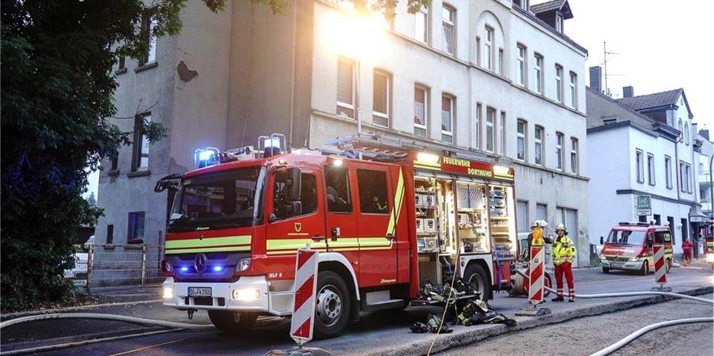 Am 17. Juni brannte es im Keller eines Mehrfamilienhauses an der Martener Straße.