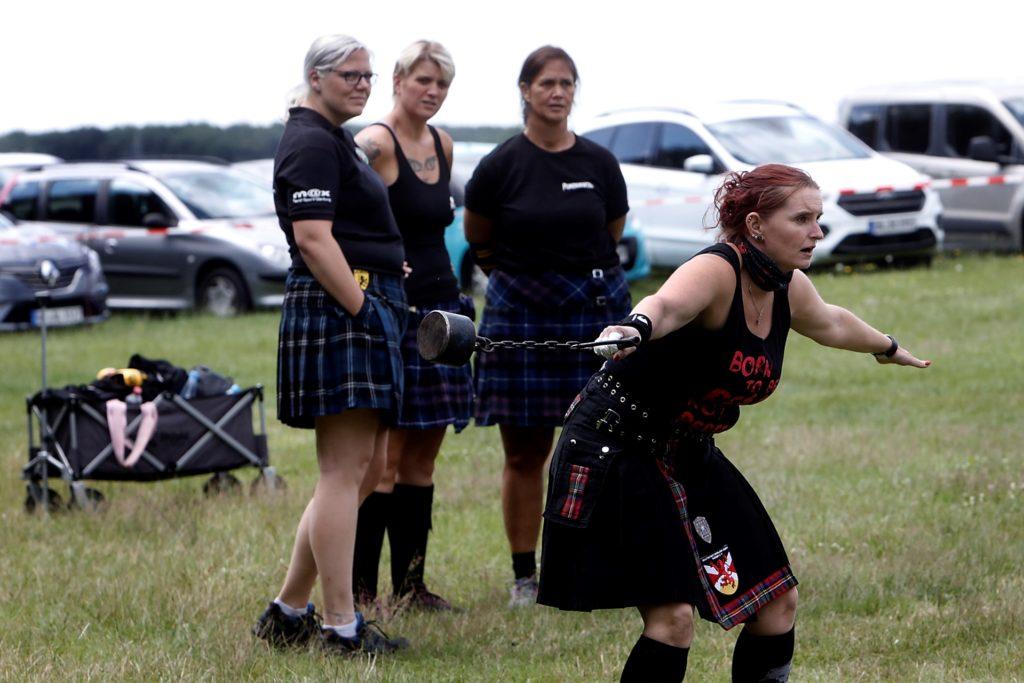 Auch eine starke Frauenriege war am Start.