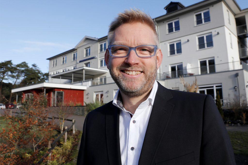 Michael Falkenreck ist seit Herbst 2018 Leiter der Jugendherberge in Haltern.