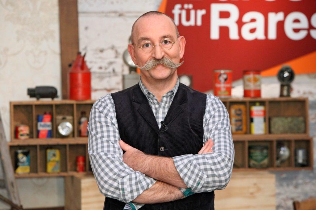 """Horst Lichter ist Gastgeber der Trödel-Show """"Bares für Rares""""."""
