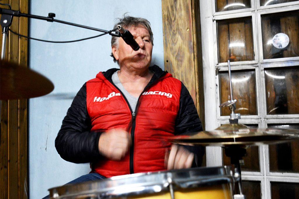 Schlagzeuger Wolfgang Kopp