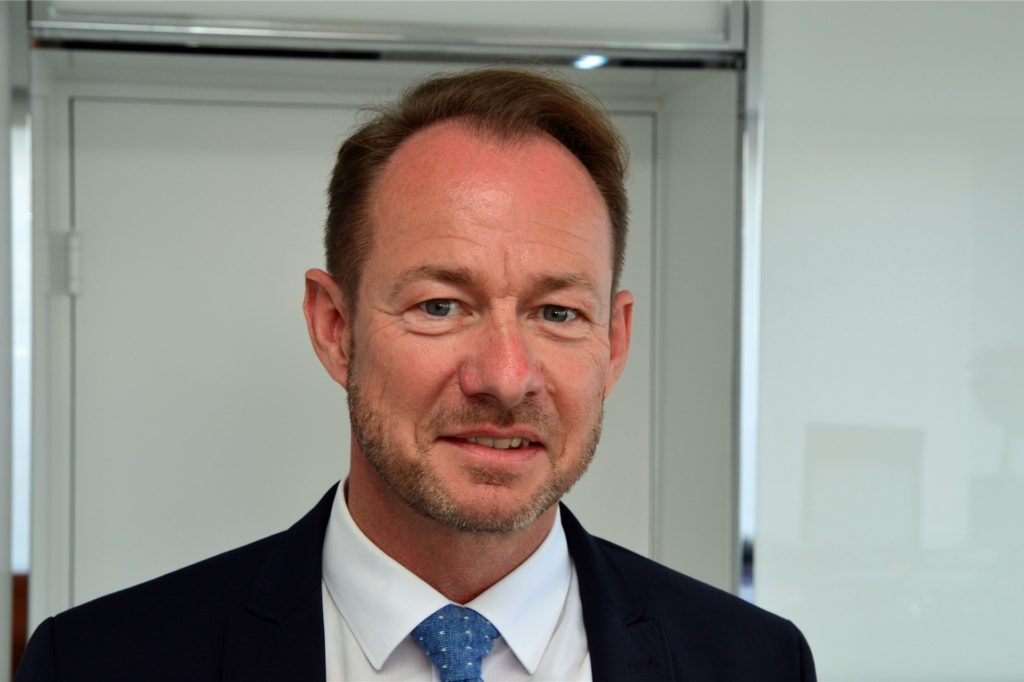 Franz-Bernd Große-Wilde ist Vorsitzender des Spar- und Bauvereins Dortmund.