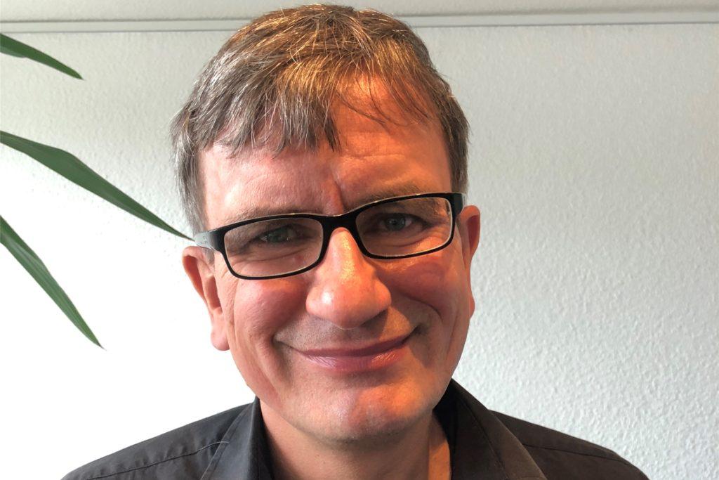 Martin Grebe vom Mieterverein in Dortmund