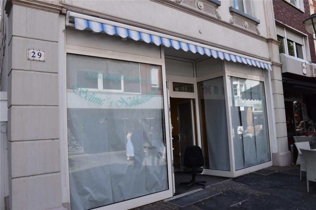 Bald zieht neues Leben in das ehemalige Taschengeschäft in der Bonenstraße.