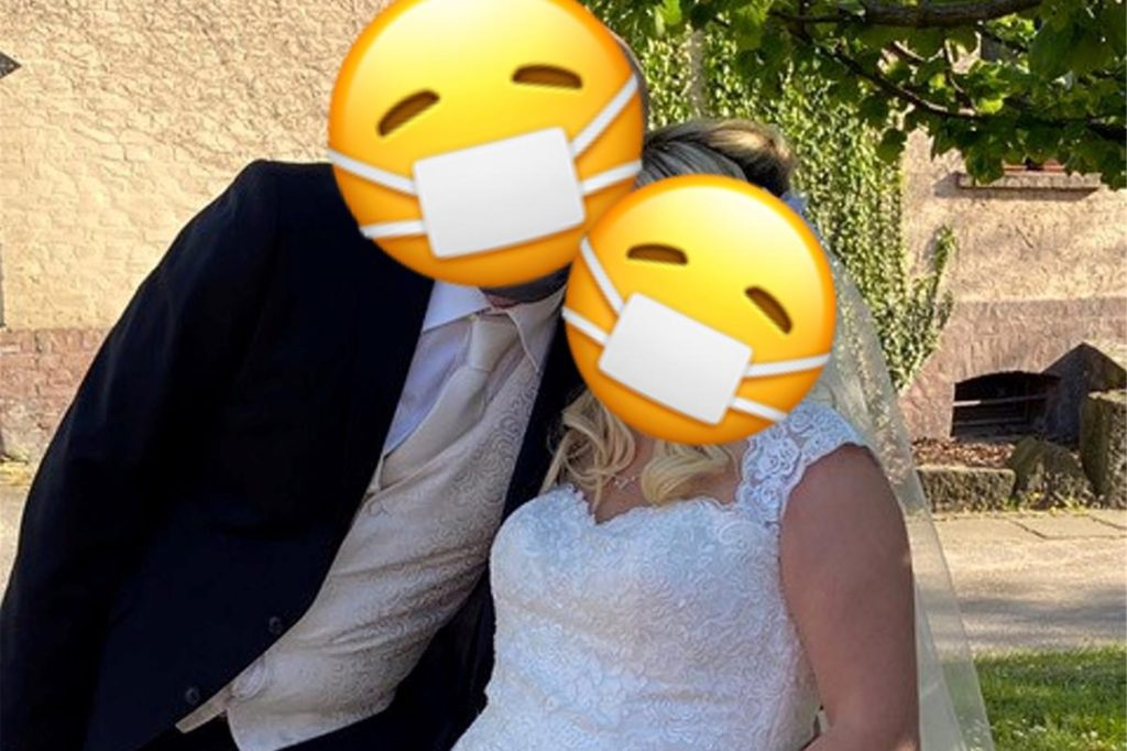 Nicht so wie sie sich das eigentlich gedacht hatten, lief die Hochzeit für viele Paare. Einige sagten trotz allem ja - ohne Gäste, dafür aber mit Mundschutz.
