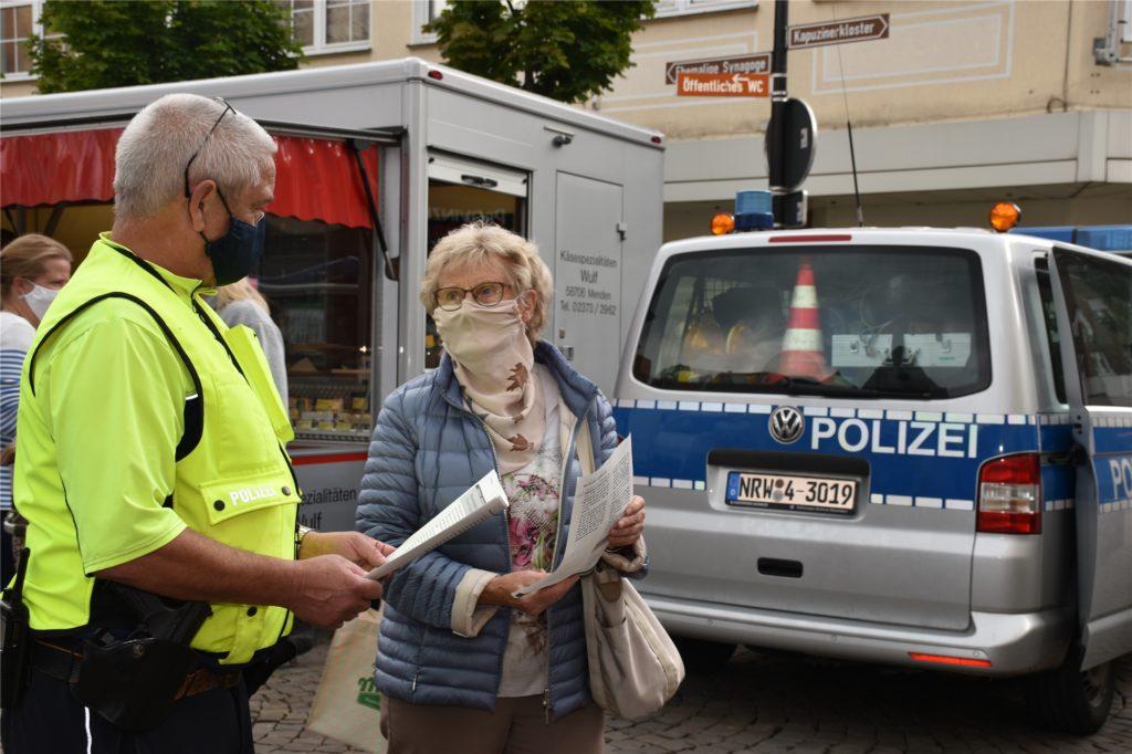 Vielen Werner Marktbesuchern ist die Betrugsmasche aus der Zeitung bekannt.