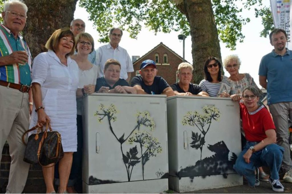 Auch die von der Künstlerin Brigitte Stüwe gestalteten Stromkästen am Essener Tor waren Thema auf einer Sitzung des Kunstbeirats.