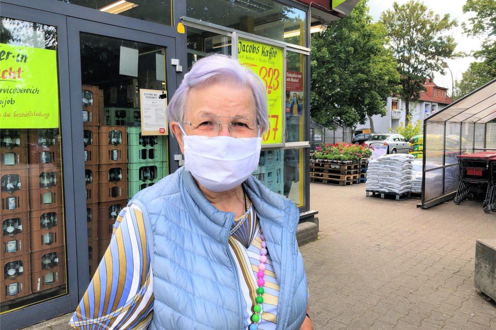 Sigrid Mitze erklärt die niedrigen Fallzahlen im Stadtbezirk Lütgendortmund mit einer guten Aufklärungsarbeit speziell in Marten.