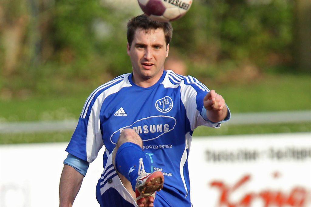 Marcus Plarre spielte wie hier 2011 für den VfB Habinghorst in der Landesliga.