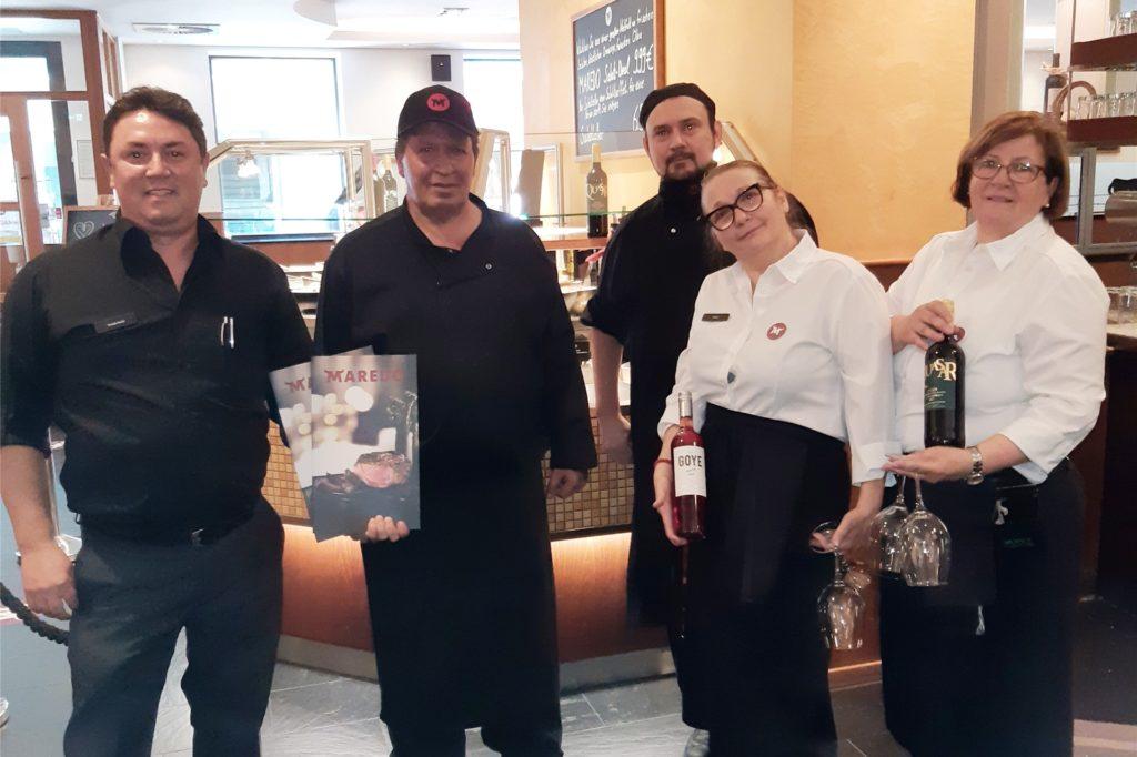 Das Team im Maredo an der Balkenstraße freut sich wieder auf Besucher. Damit die Gäste sich wohl und sicher fühlen, wurde für den Neustart ein Hygienekonzept entwickelt.
