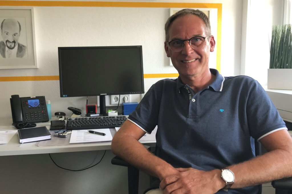 Stefan Maas ist Pflegeberater beim Caritasverband Ostvest in Haltern.