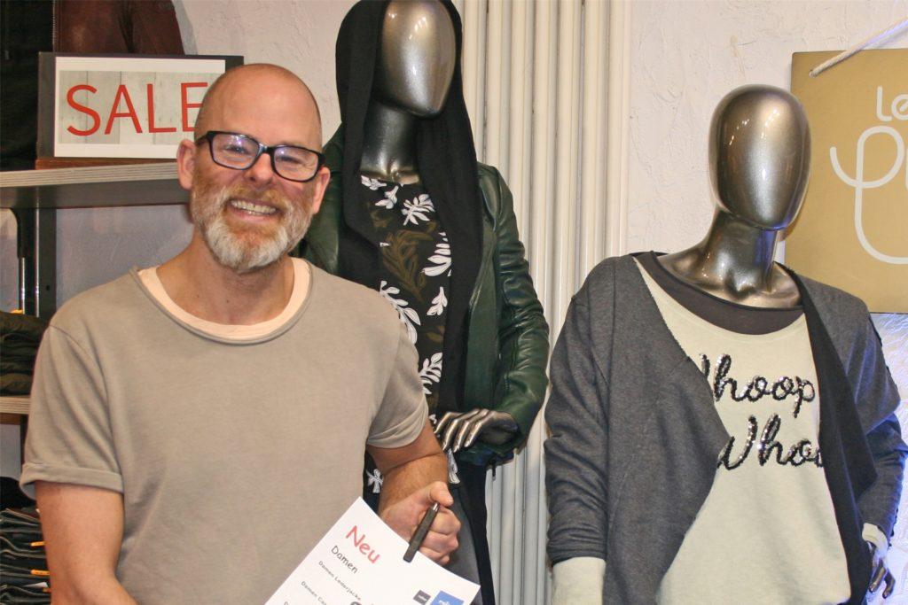 Auch Jens Reiter von Reiter Fashion ist überzeugt vom Erfolg des Projektes.