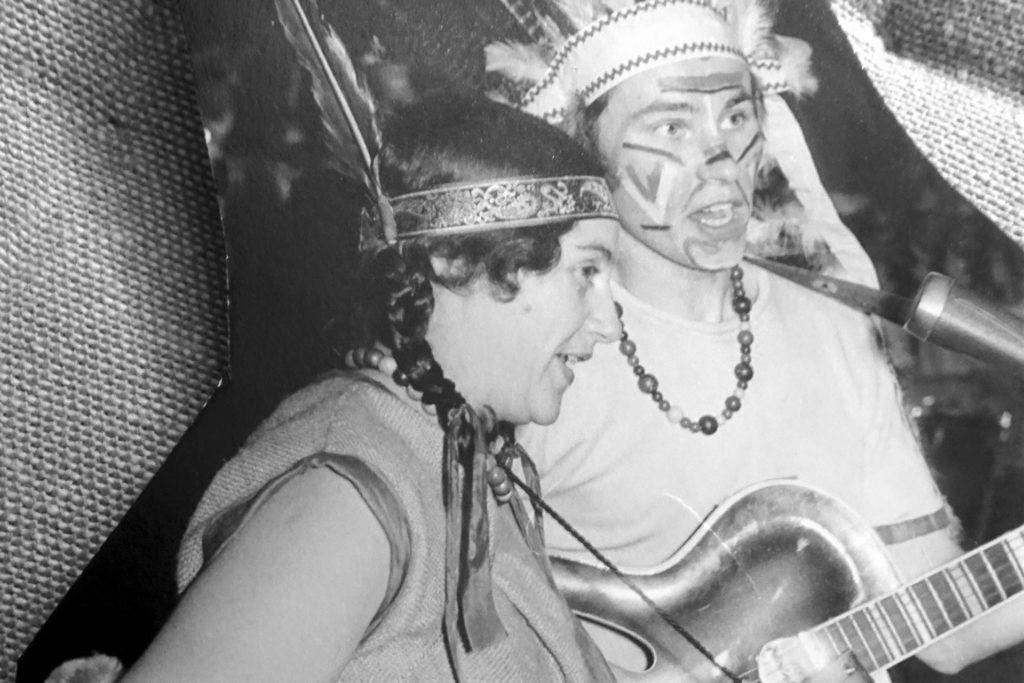 C & C bei einem Auftritt 1961