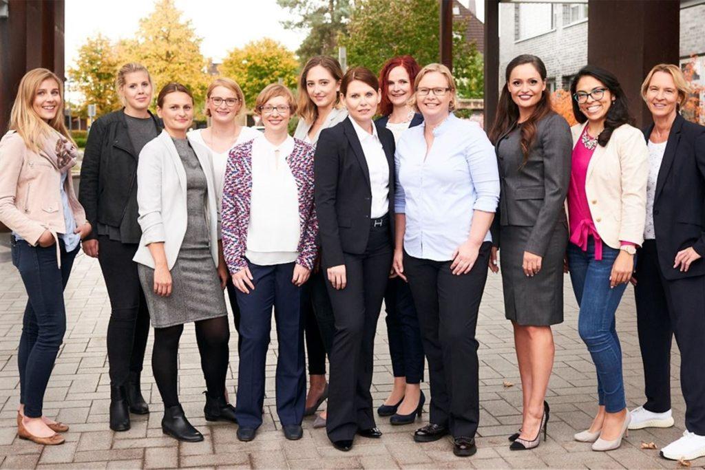 """Mehr Frauen in Führungspositionen, das ist das Ziel bei Adesso. Dazu wurde bereits eine """"Adesso-Elf"""