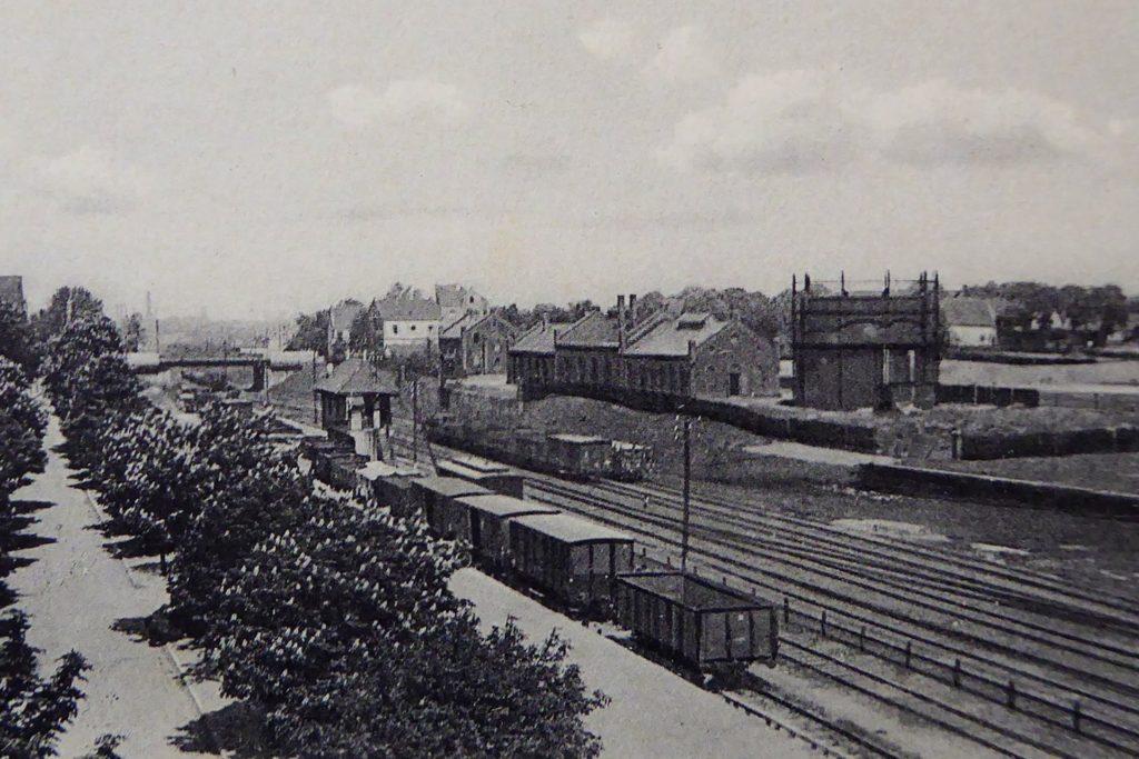 Das erste Gaswerk in Hombruch lag am Bahnhof Barop.