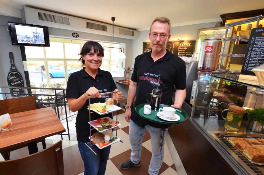 """""""Wir sind immer noch in einer Schockstarre"""", sagen Joanna Smolka und Kai Schmitt, die ihr Café wegen der Corona-Krise dauerhaft schließen mussten."""
