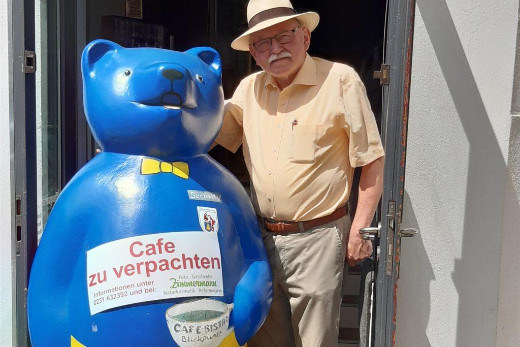 Wilhelm Mohrenstecher hofft, dass das Café Blickpunkt schon bald wieder mit Leben gefüllt wird.