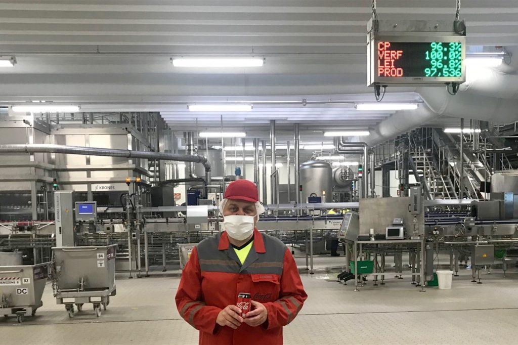 Ralf Schmalenbeck, Betriebsleiter bei Coca-Cola in Dorsten