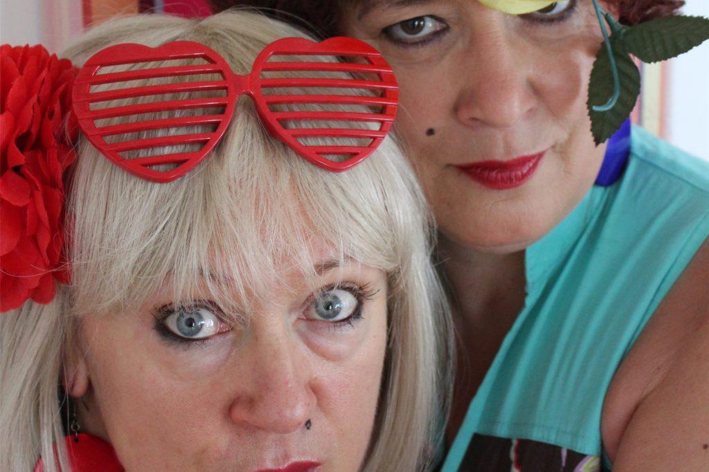 Pottsäue: Lioba Albus und Andrea Badey präsentieren ihr kalorienreiches Best-of.