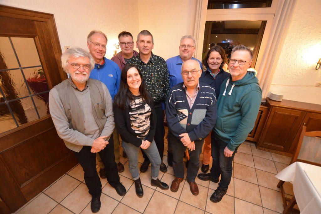 Mit sieben Männern und drei Frauen (Isabella Knappmann fehlt auf dem Bild) treten die Grünen bei der Kommunalwahl an.