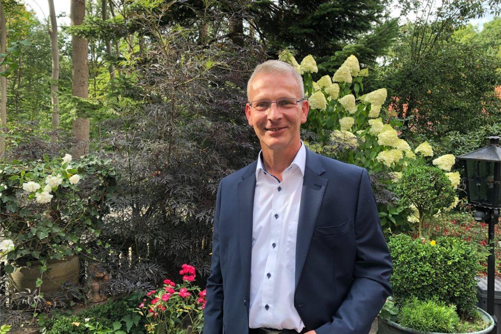 Gerd Heuser will Bürgermeister werden.
